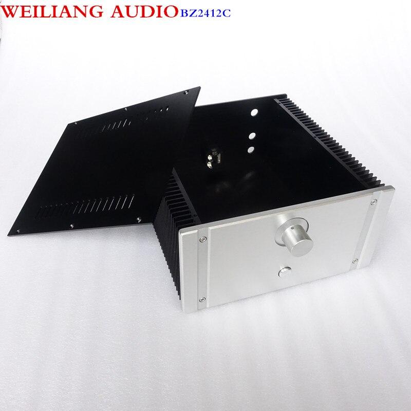 WEILIANG AUDIO CLASS A power amplifier aluminum case match with WeiLiang filter small CLASS A circuit