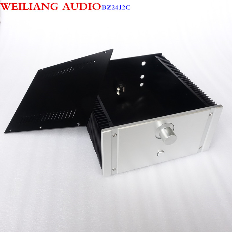 WEILIANG AUDIO CLASS A power amplifier aluminum case(match with WeiLiang filter small CLASS A circuit )BZ2412C weiliang audio