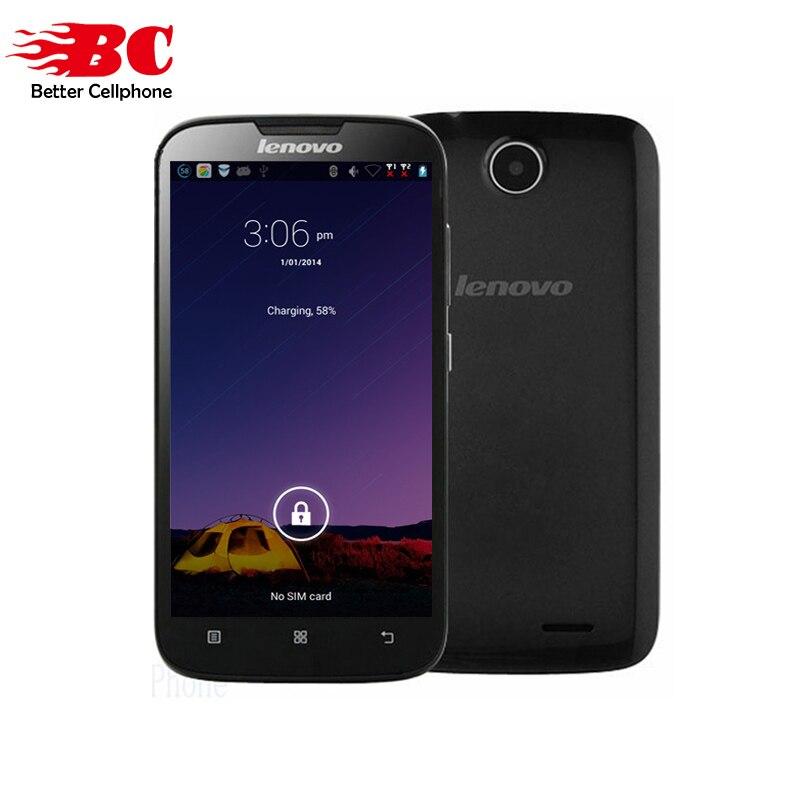 Original Lenovo A560 5,0 ''Smartphone MSM8212 1,2 GHz Quad Core Android 4,3 GPS ROM 4 GB A8 WCDMA GSM Dual-SIM GPS WIFI Bluetooth