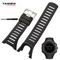 Аксессуары для часов  высококачественный силиконовый ремешок  черный резиновый ремешок  подходит для серии SUUNTO AMBIT 1/2/3