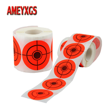 1 Roll Archery Target Paper Shooting Practice Sticker 2inch Self-adhesive Bow And Arrow Hunting Accessories