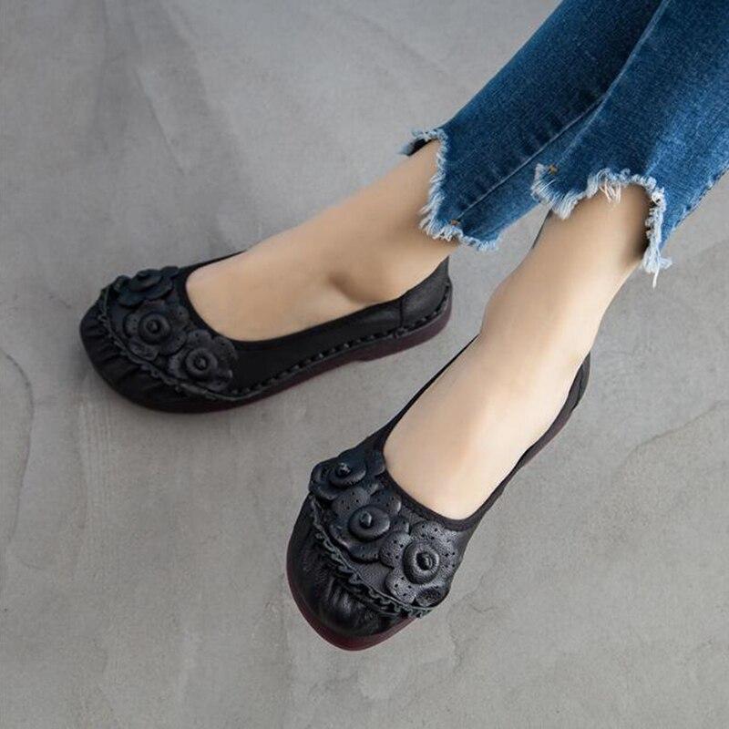 Femmes Plate C38 forme Mujer Mocassins Femelle 2019 Slip Été kaki Tissage gris Chaussures De Appartements Des pourpre Printemps Pêcheur Zapatos Noir Sur qwACESw