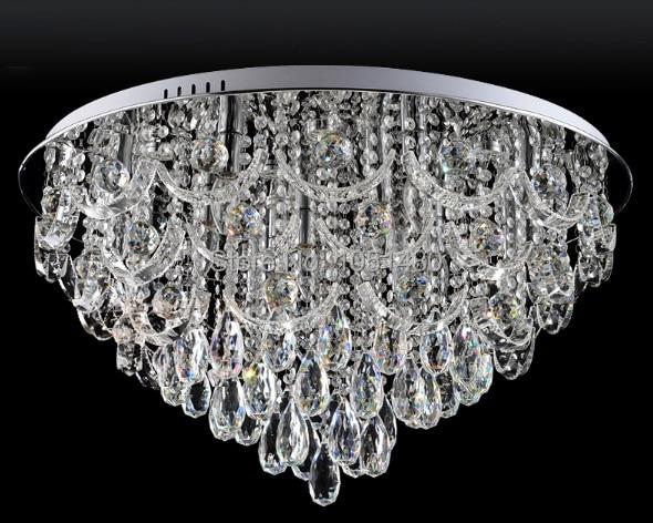 Plafoniere Con Gocce Di Cristallo : Nuovo lusso lustre moderne plafoniere a led per soggiorno lampada