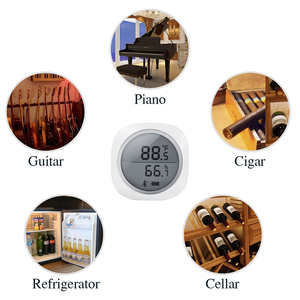 Image 4 - ワイヤレスbluetooth IBS TH1 プラス温度計 & 湿度計アンドロイド & ios用無料アプリ醸造肉植物シガー収納車