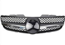 цена на For Mercedes-Benz SL-class R230 2006-2008 with Emblem SL Style Front Racing Grille