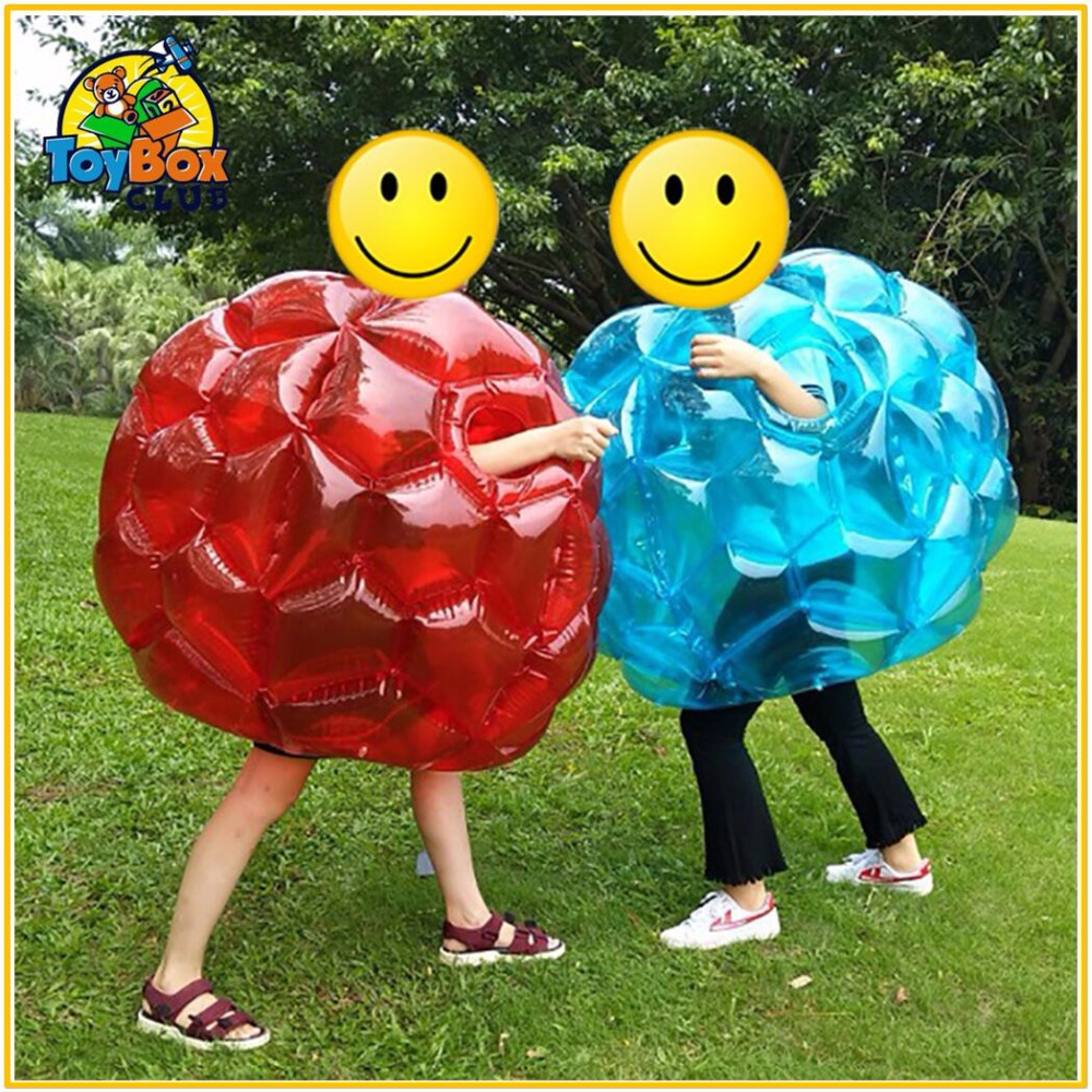 Air Bubble Soccer Zorb Ball for Kids 60cm PVC Air Bumper Ball for year 5 to15 Inflatable Bubble Football Zorb Ball For Sale air pump use for inflatable products such as bumper ball zorb ball water trampoline etc 1200 w air blower inflated and deflate