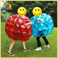 Air Bubble Soccer Zorb Ball for Kids 60cm PVC Air Bumper Ball for year 5 to15 Inflatable Bubble Football Zorb Ball For Sale