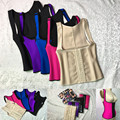 Fashion Latex Waist Cincher Waist Trainer Corsets Latex Corset Sexy Body Shapers and Bustiers Steel Bones Waist Hot Shapers