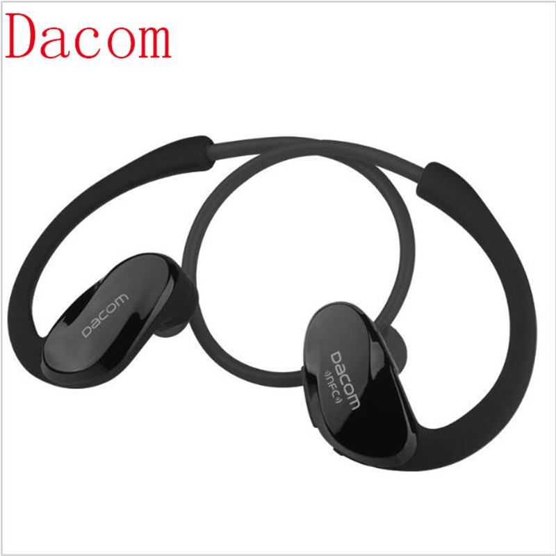 dacom athlete wireless headphone auriculares bluetooth sports bluetooth headset ear hook. Black Bedroom Furniture Sets. Home Design Ideas