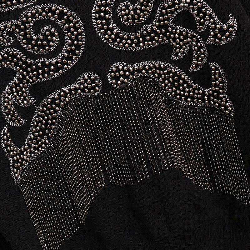 Costumes Chandail 2018 Set Tricoté Deux Pantalon Pièces Hiver 2 Perles Gland Ensemble Femmes qxqgtIr