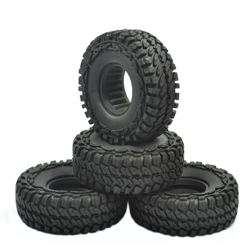 4pcs 114mm off crawler car tires tyre for 1 10 rc crawler car 19 inch wheels