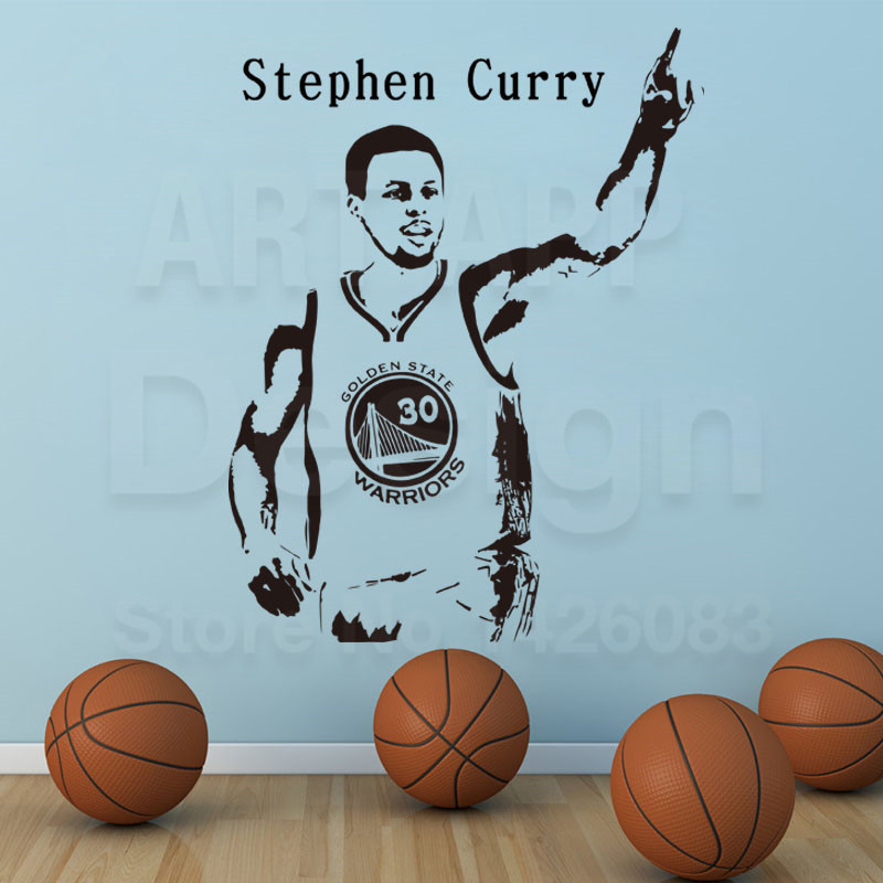 Art New Design Curry Cheap Home Decor Basketball Wall