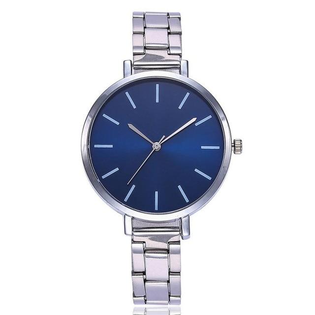 Band New Strap Women's Watches Analog Wrist Watch Reloj Mujer Casual Quartz Stai