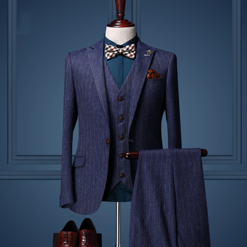 High Quality 2016 Spring Men Wedding Business Party Suits Set Jacket