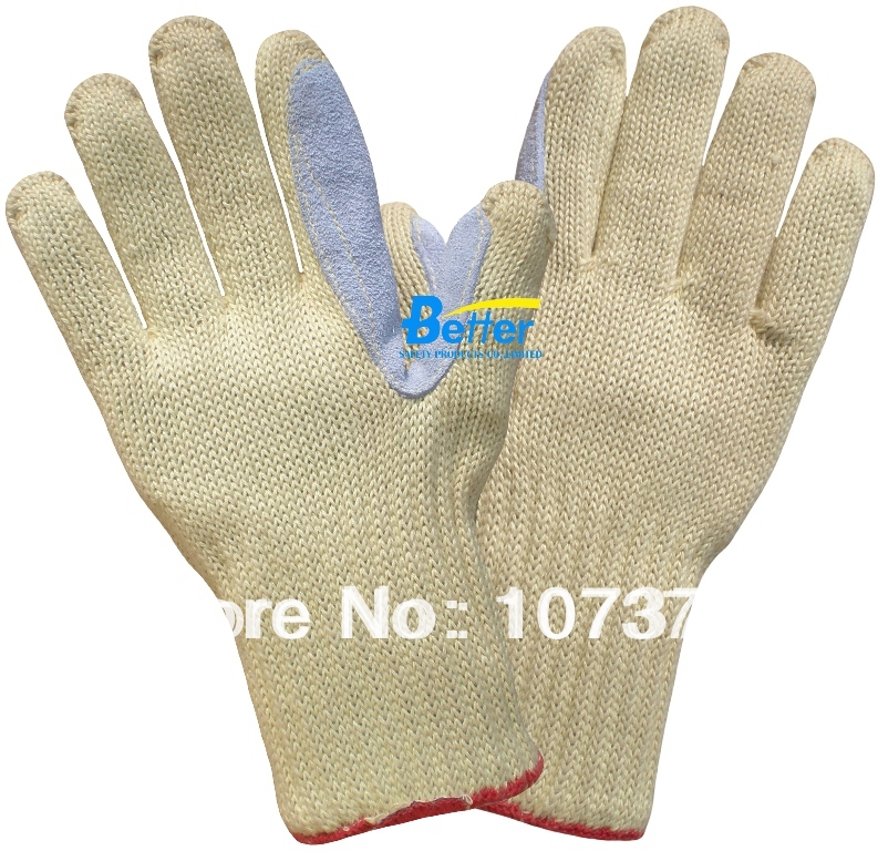 HPPE Anti Cut Working Gloves Aramid Fiber Cut Resistant Work Gloves anti cut safety glove hppe cut resistant work glove