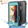 Para iphone 7 plus life water à prova d' água caso ultra slim fina poeira à prova de Choque Caso Full Body Capa Protetora para iPhone7 plus