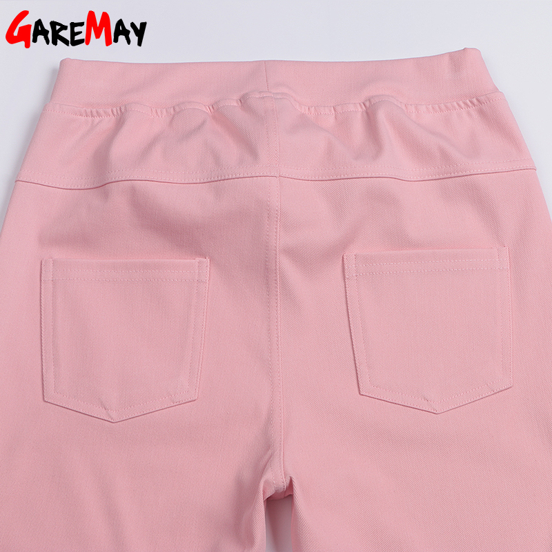 Ležerne hlače visoke ženske tanke donje hlače Stratch Pantalon - Ženska odjeća - Foto 5