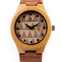 2016 Women's Wooden Casual Watch Ladies Wrist Watch Woman Clock Wood Lover Watches for Men And Woman