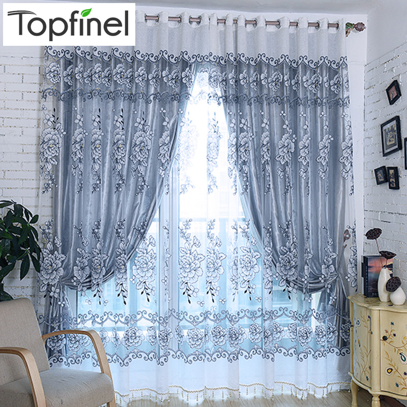 Top Finel Strip Modern Luxury Window Curtains for Living Room ...