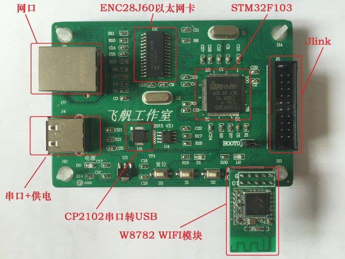 Embedded network those things Ethernet + WIFI double network card development board; Supports AP + STA coexistence ipc board industrial motherboard arm9 development board embedded motherboard 6410 100