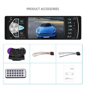 Image 5 - Hikity Autoradio stéréo FM, Bluetooth, compatible caméra de recul (4022d), Audio, avec commandes au volant, pour voiture, 1 din