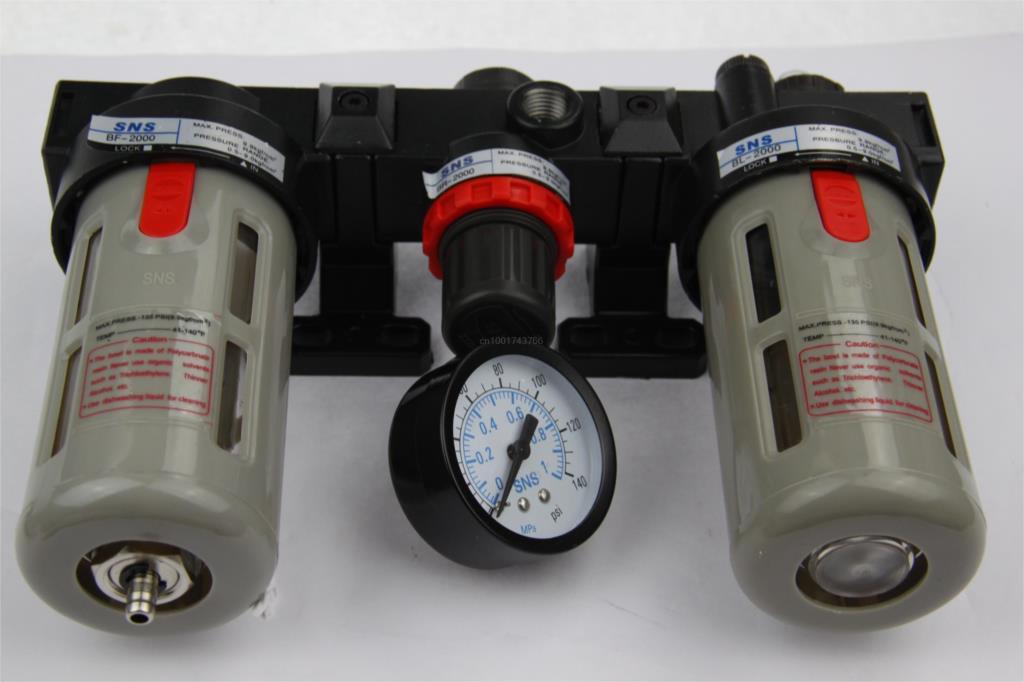 все цены на  SNS Pneumatic FRL air source processor BC3000 3/8