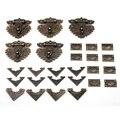 55 teile/satz Klassische möbel Schublade Schmuck Holz Box Ecke Dekorative Füße Bein für boxen armaturen für möbel