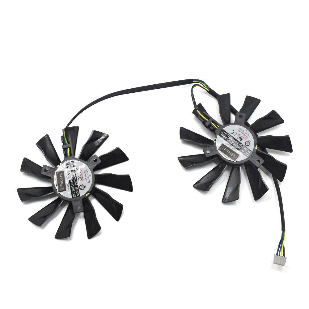 Nuevo 95mm PLD10010S12HH ventilador para reemplazar MSI Geforce GTX 1060, 970, 1050, 1080 TI 1070 RX 580 de 570 470 de 480 gráficos Tarjeta de Fans