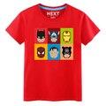 Moda marca Superhero Spiderman camiseta hombres camisa Casual Superman Iron Man capitán Batman camiseta Tops hombres ropa más del tamaño
