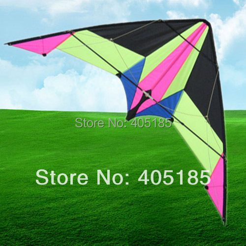 Free Shipping Outdoor Fun Sports Stunt Kite For Beginners Easy To Control With Flying Tools