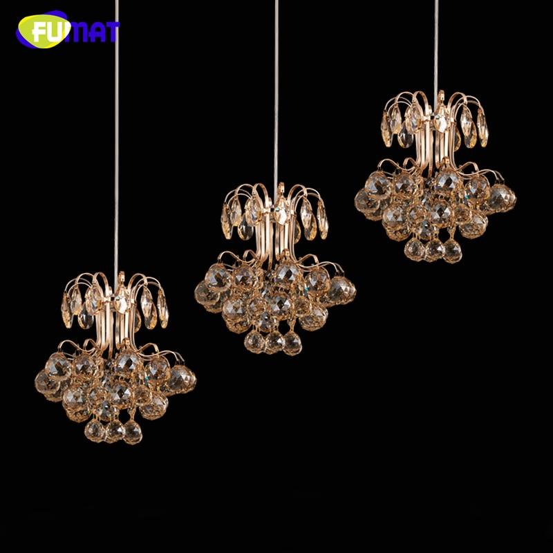FUMAT Luxury LED Crystal Pendant Lights Modern Creative Lustre Amber Crystal Suspension Lights Living Room LED Crystal Lights|pendant light modern|suspension light|crystal pendant lights - title=