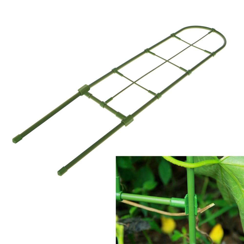 Plantas soporte marco enrejado escalada DIY flor vides soporte del ...