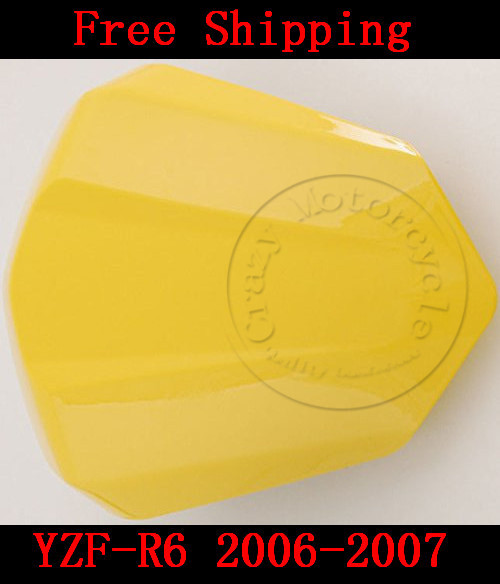For Yamaha YZF 600 R6 2006-2007 motorbike seat cover High quality Motorcycle Yellow fairing rear sear cowl cover for yamaha yzf 600 r6 2008 2009 2010 motorbike seat cover high quality motorcycle yellow fairing rear sear cowl cover