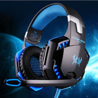 Real EACH G2000 Over Ear Pro Game Gaming Headset Earphone Headband Headphone With Mic Stereo Bass