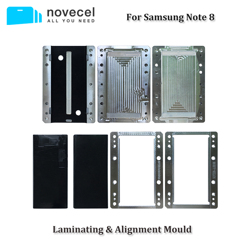 Novecel OCA Laminating YMJ Molds for Samsung Note 8 9 LCD Glass OCA Laminate Compatible with Novecel Q5 YMJ MachineNovecel OCA Laminating YMJ Molds for Samsung Note 8 9 LCD Glass OCA Laminate Compatible with Novecel Q5 YMJ Machine