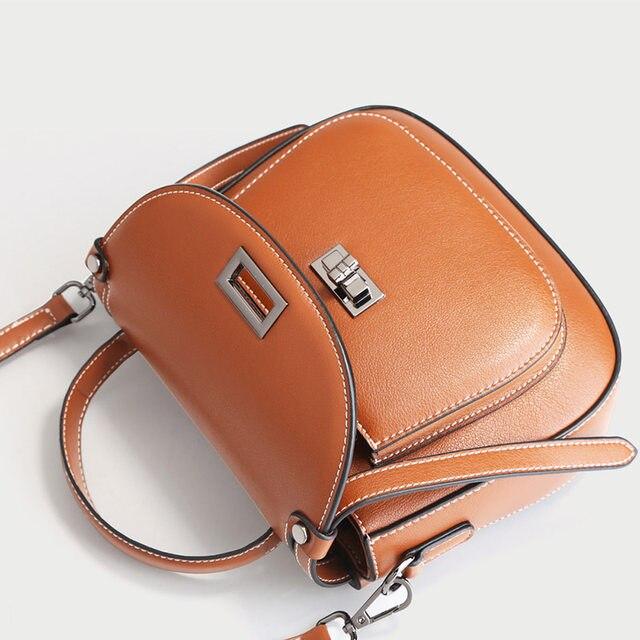 6231e3df53 Online Shop MC genuine Leather Fashion Purse Flap Handbag Female ...