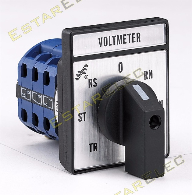 Aliexpress.com : Buy CA10 Rotary Cam Switch 20A Voltmeter selector ...