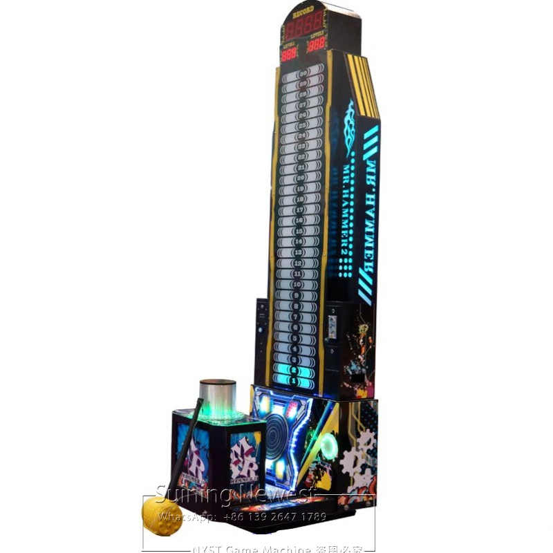 2019 New Amusement Equipment Coin Operated Electronic Games Hammer Hitting Tickets Redemption Arcade Game Machines