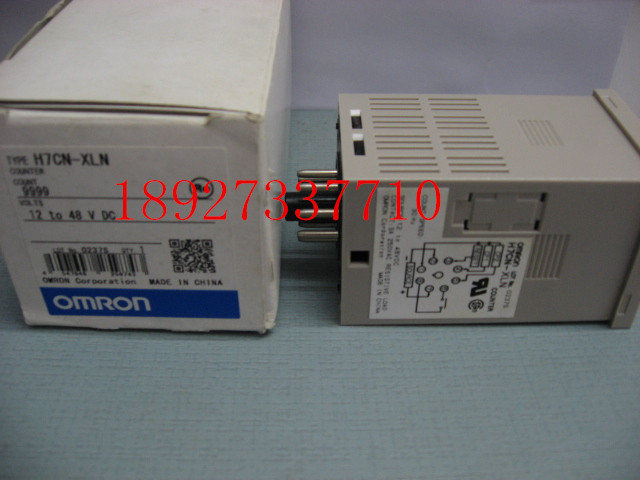[ZOB] New original authentic OMRON Omron digital counter H7CN-XLN DC12-48V relay brand new original authentic brs15b