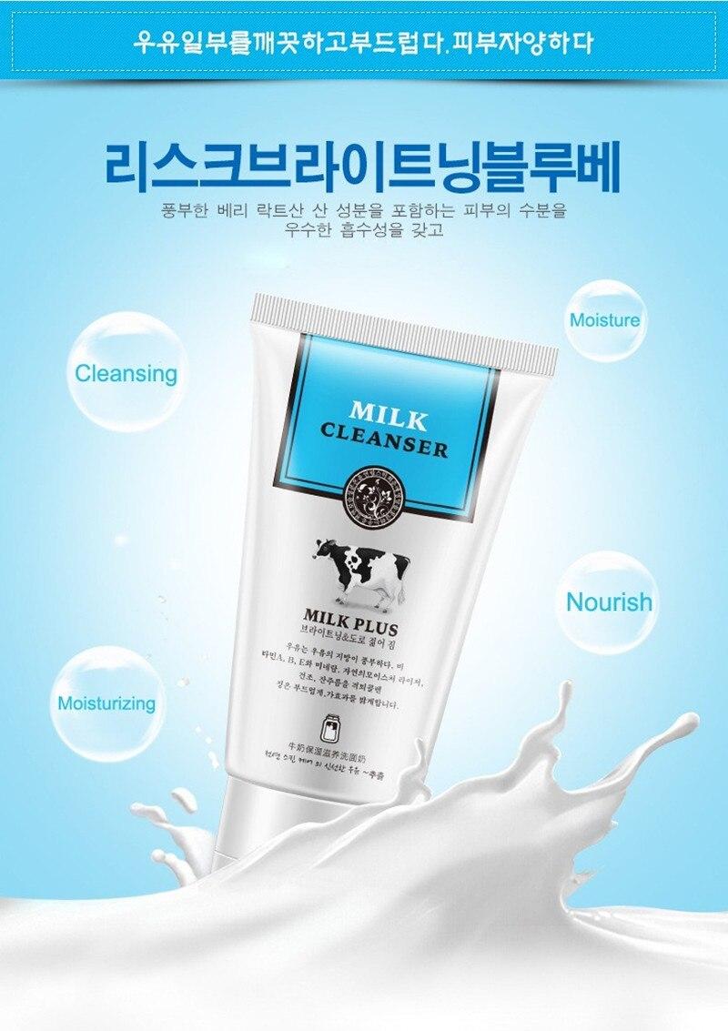 Rosto Limpador Facial Espuma Limpador Nutritivo Hidratante