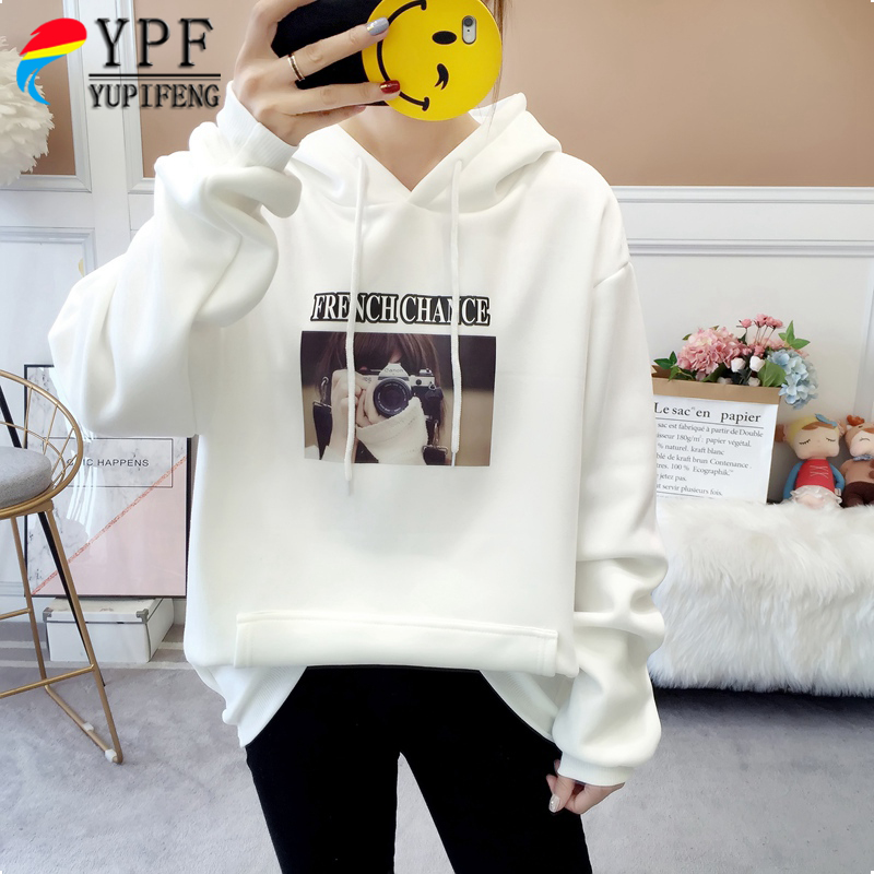 2018 Bts Sweatshirts Winter New Trend Humorous Embroidery Hoodies Girls Pullover Hooded Sweatshirt Feminine Tracksuit Free Feminine