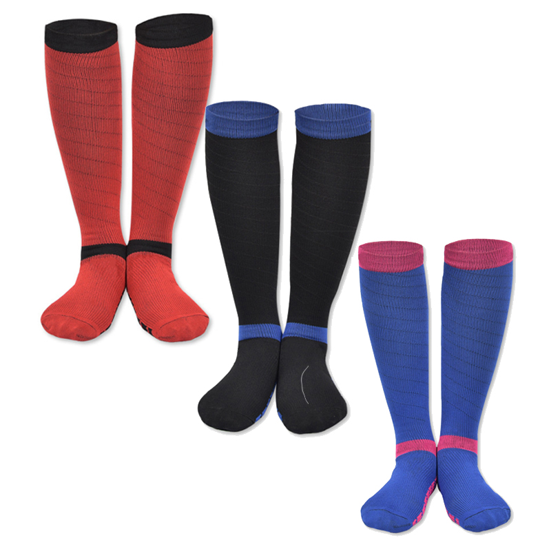 Hot New Style Men Women Professional Compression Socks Unisex Comfortable Relief Soft Stretch Anti-fatigu Leg Support Sock 2 Carefully Selected Materials Men's Socks