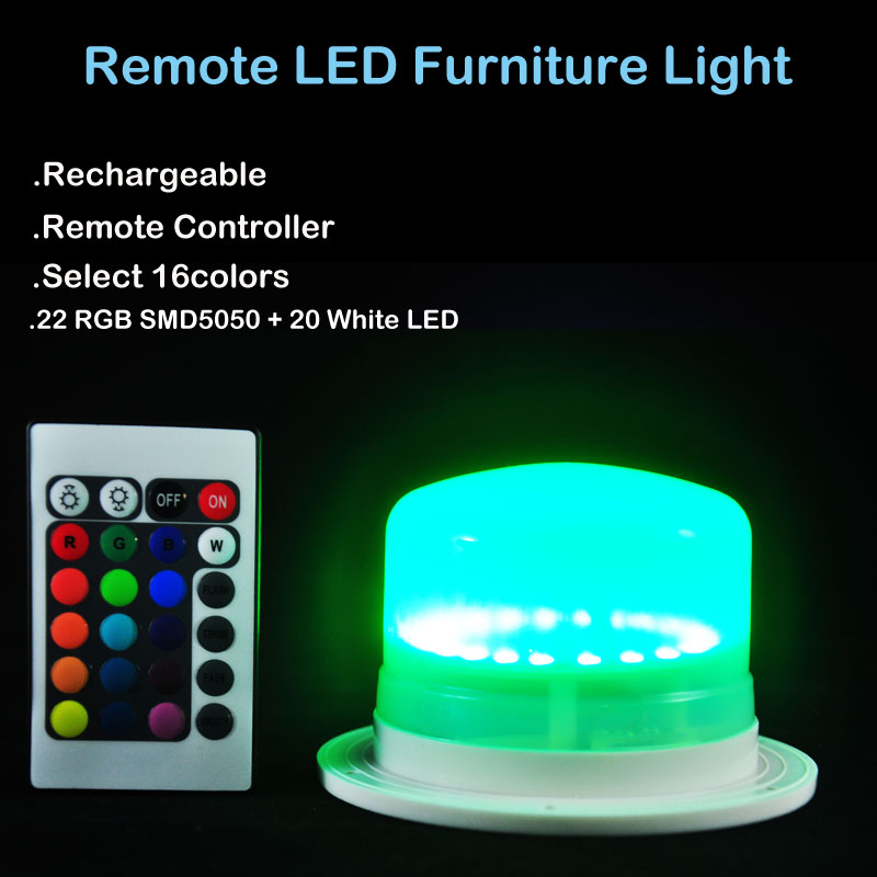 Green LED Furniture Light With Remote