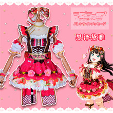 2019 Hot New lovelive Aqours Chocolate Valentines Day 3rd Edition Kurosawa Dia Dress Halloween Cosplay Costume Women
