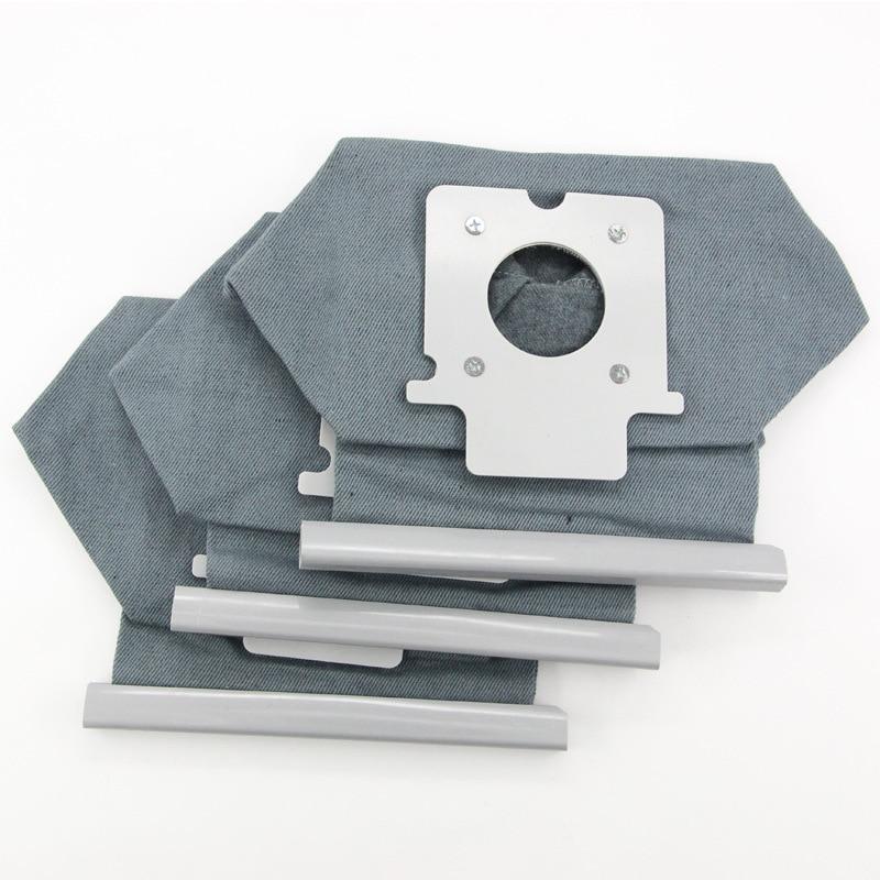 2 шт. Универсальный Hepa ткань из микрофибры мешки-пылесборники для Panasonic Пылесосы очиститель Запчасти MC-E7101 MC-E7102 MC-E7103 MC-E7111 MC-E7113