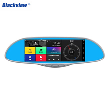 Blackview 7.0 inch LCD Screen HD Car Rearview Mirror DVR Car Camera Parking Monitor Navigator Motion Detection 170 Degree 1080P