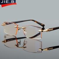 Chất lượng cao đặc biệt cắt lão thị ống kính men phong cách quảng trường kính đọc sách thời trang presbyopic kính cho hyperopia người đàn ông