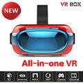 Новейшие EK01 Мощный 3D Виртуальной Реальности Очки Поддержка 3D Кино/Игры/Видео все В Одном VR Очки Android 5.1 Quad Core VR КОРОБКА