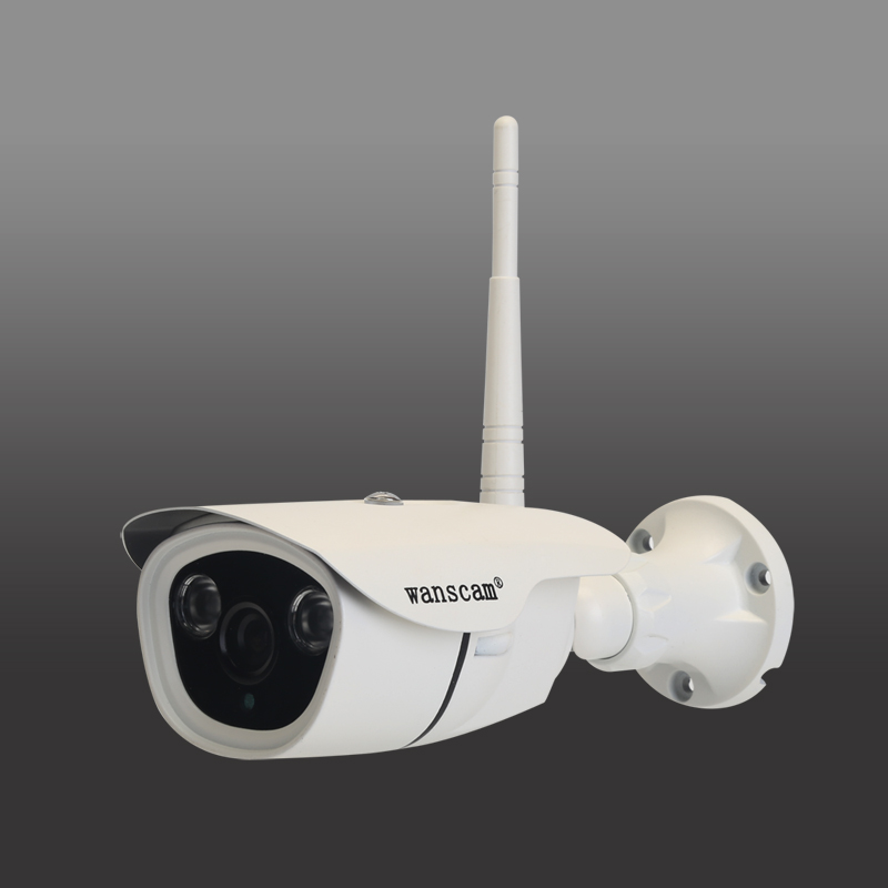 960P 1.3MP P2P CMOS Sensor WiFi Outdoor Wireless IP Bullet Camera Built-in 16G TF Card Support for Security цена