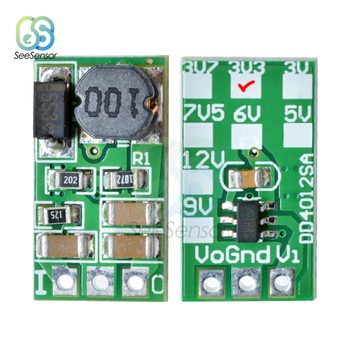 DD4012SA 1A DC 5-40V to 3V 3.3V 3.7V 5V 6V 7.5V 9V 12V Regulator DC-DC Buck Step-Down Converter Regulator Module Board dc dc voltage converter positive to negative step down power supply boost buck module 3 15v to 3 3v 5v 6v 9v 12v 15v